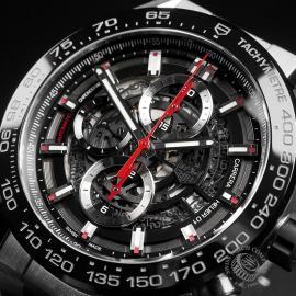 TA22421S Tag Heuer Carrera Calibre HEUER 01 Chronograph Close2 1