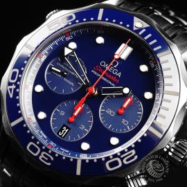 OM21919S Omega Seamaster Professional Chronograph Co-Axial Close2 1