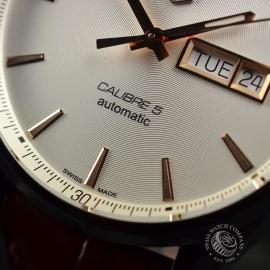 TA20800S Tag Heuer Carrera Calibre 5 Day Date  Close5 1