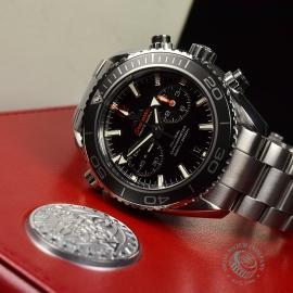 OM20307S Omega Seamaster Planet Ocean 600m Co Axial Chrono Close10