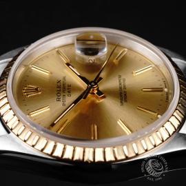 RO21991S Rolex Oyster Perpetual Date Close6