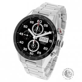 21452S Tag Heuer Carrera Calibre 16 Day-Date Chrono Back