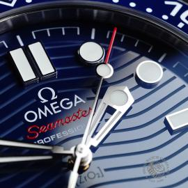 OM21801S Omega Seamaster Professional 300M Close6