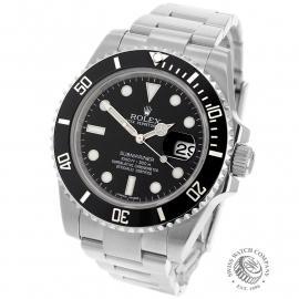 RO22466S Rolex Submariner Date Back