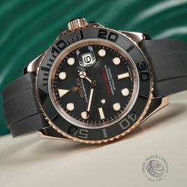 RO22598S Rolex Yachtmaster Everose Gold Close10