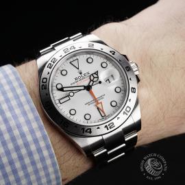 RO22284S Rolex Explorer II Orange Hand Wrist