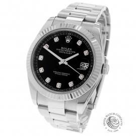RO22590S Rolex Datejust 41 Back