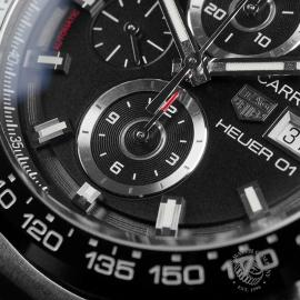 TA22562S Tag Heuer Carrera Calibre HEUER 01 Chronograph Close4
