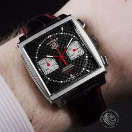 21489S Tag Heuer Monaco Calibre 12 Limited Edition Wrist