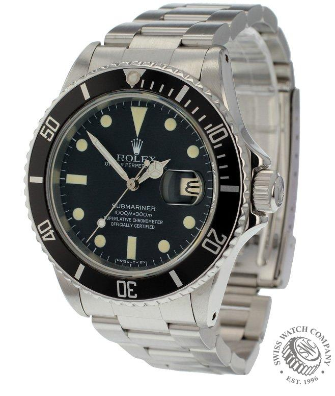 Rolex Submariner Date Transitional Model