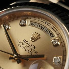 RO22541S Rolex Day-Date II 18ct Close3 1