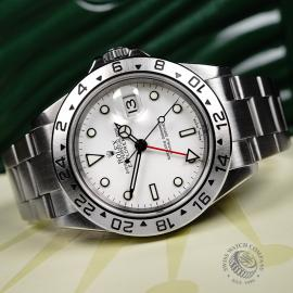 RO22221S Rolex Explorer II 'Polar' Close10