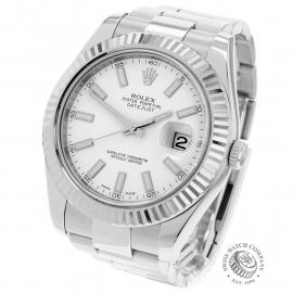 RO22148S Rolex Datejust II Back