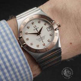 OM22331S Omega Constellation '50th Anniversary' Wrist