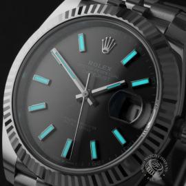 RO22583S Rolex Datejust 41 Unworn Close1