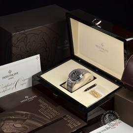 PA21109S Patek Philippe Nautilus Travel Time Chronograph Box