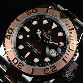 21427S Rolex Yachtmaster 40mm Close8