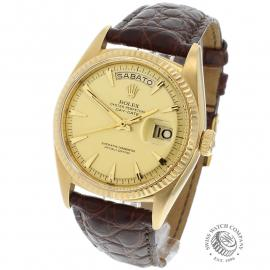 RO645F Rolex Day Date 18ct Back 1