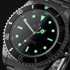RO22249S Rolex Submariner Non-Date '2-Line' Close1