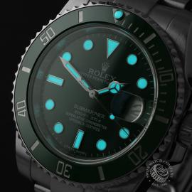 RO22172S Rolex Submariner Date Ceramic 'Hulk' Close1