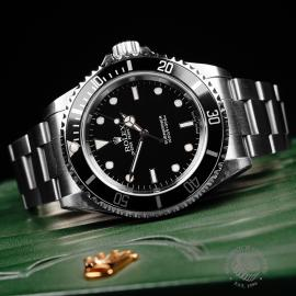 RO22249S Rolex Submariner Non-Date '2-Line' Close10