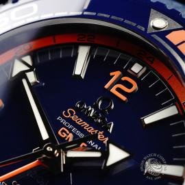 OM21772S Omega Seamaster Planet Ocean GMT 'Big Blue' Close3