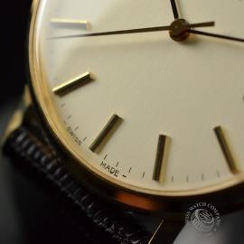OM19632S Omega Vintage 9ct Gents Dress Watch Close6