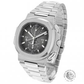 PA21109S Patek Philippe Nautilus Travel Time Chronograph Back