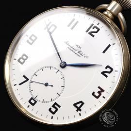 IW844F IWC Vintage 'Kriegsmarine' Pocketwatch Close2