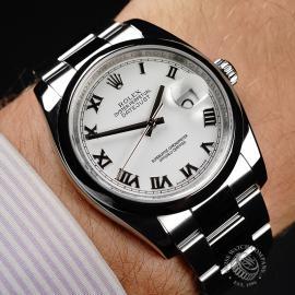 RO21850S Rolex Datejust 36 Wrist