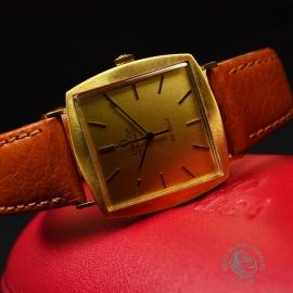 OM18522S Omega Vintage De Ville Automatic 18ct Close9
