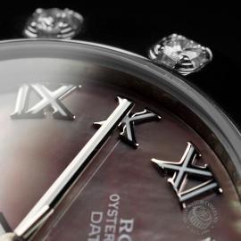 RO22303S Rolex Ladies Pearlmaster Close 5
