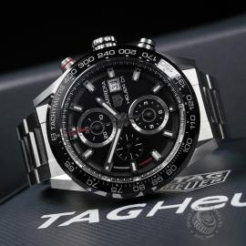 TA22562S Tag Heuer Carrera Calibre HEUER 01 Chronograph Close10