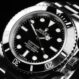 RO21834S Rolex Submariner Non Date Ceramic Close2