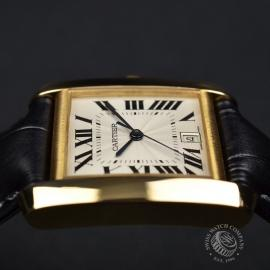 CA21253S Cartier Tank Francaise Mid Size18ct Close9