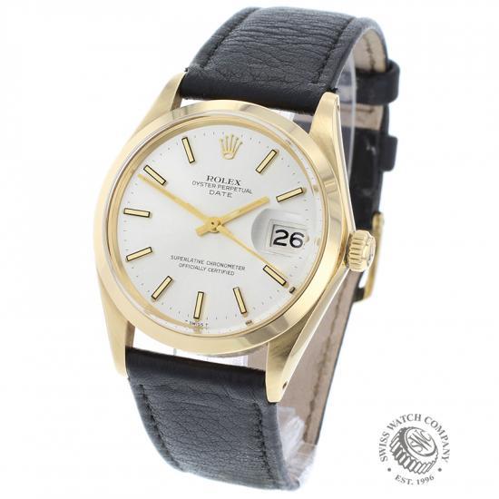 Rolex Vintage Date 18ct