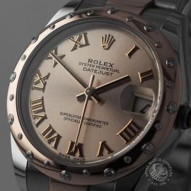 RO21702S Rolex Ladies Datejust Midsize Close1