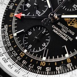 BR21888S Breitling Navitimer World Chrono GMT Close5