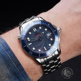 OM21529S Omega Seamaster James Bond 007 Limited Edition Wrist