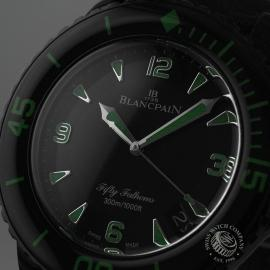 BL19823S Blancpain Black Knight Fifty Fathoms Automatic Close1