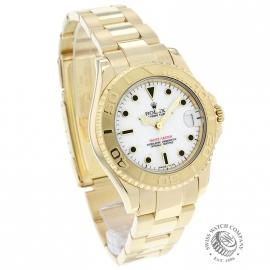 RO21031S Rolex Yachtmaster Mid Size 18ct Dial 1