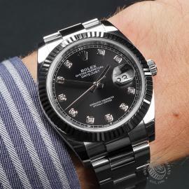 RO22590S Rolex Datejust 41 Wrist