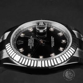 RO22590S Rolex Datejust 41 Close6 1