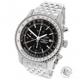 BR21888S Breitling Navitimer World Chrono GMT Back