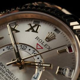 RO22332S Rolex Sky-Dweller 18ct Unworn Close3