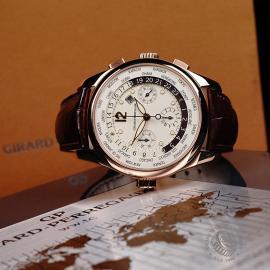 GP22191S Girard Perregaux World Time Chronograph 18ct Close10