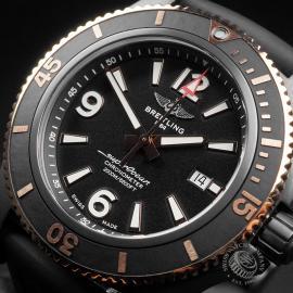 BR22775S Breitling Superocean 46 Blacksteel Close2