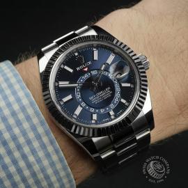 RO22358S Rolex Sky Dweller  Wrist
