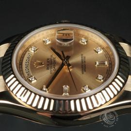 RO22541S Rolex Day-Date II 18ct Close6