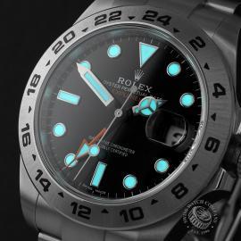 RO22408S Rolex Explorer II Orange Hand Close1